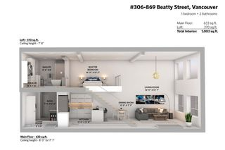 "Photo 37: 306 869 BEATTY Street in Vancouver: Downtown VW Condo for sale in ""THE HOOPER"" (Vancouver West)  : MLS®# R2551567"