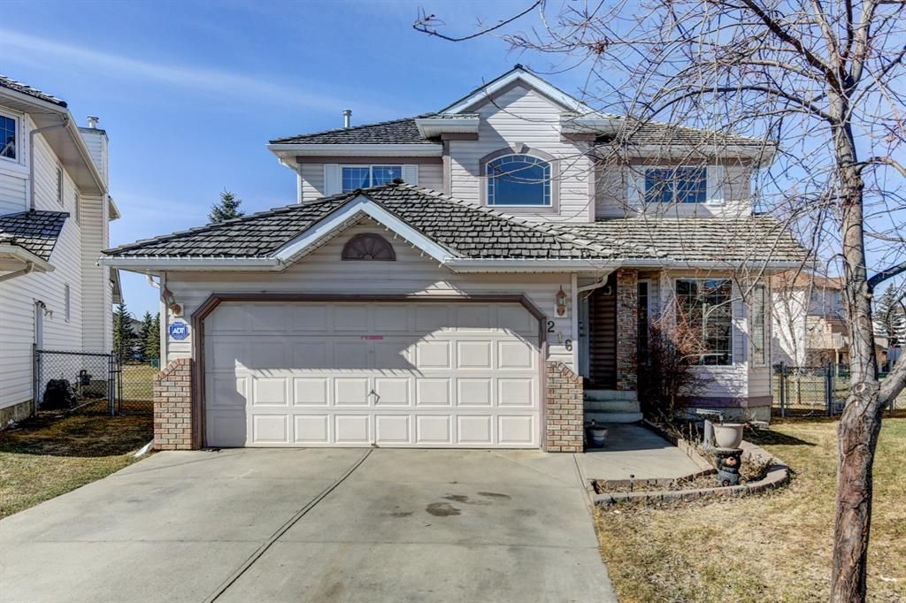 Main Photo: 216 Coral Shores Court NE in Calgary: Coral Springs Detached for sale : MLS®# A1116922