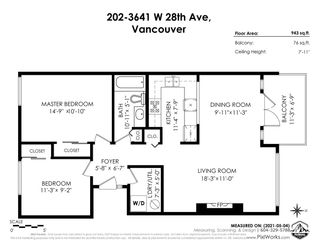 """Photo 2: 202 3641 W 28TH Avenue in Vancouver: Dunbar Condo for sale in """"KENSINGTON COURT"""" (Vancouver West)  : MLS®# R2576737"""