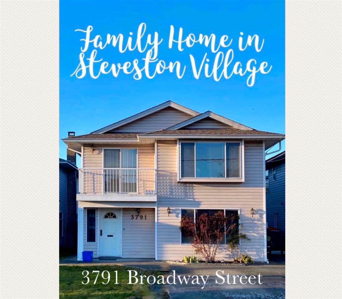 "Main Photo: 3791 BROADWAY Street in Richmond: Steveston Village House for sale in ""STEVESTON VILLAGE"" : MLS®# R2579355"