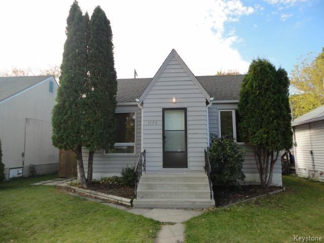 Main Photo: 1124 Valour Road in Winnipeg: Residential for sale : MLS®# 1322362