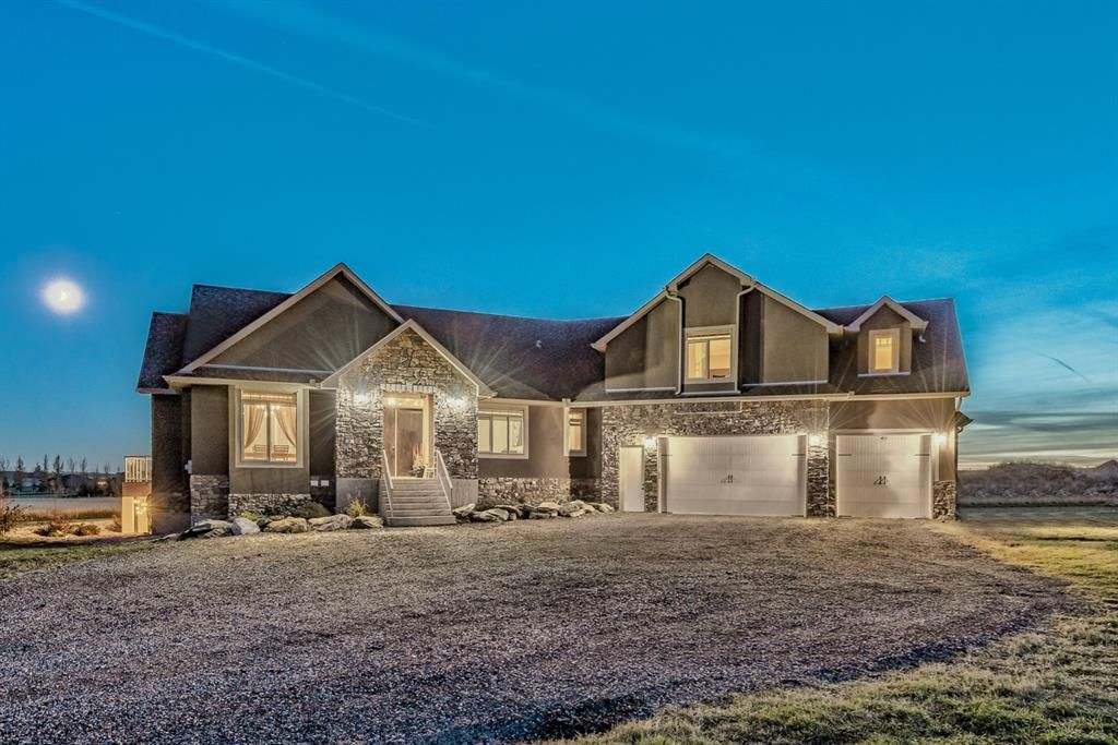 Main Photo: 56 Calterra Estates Drive in Rural Rocky View County: Rural Rocky View MD Detached for sale : MLS®# A1153300
