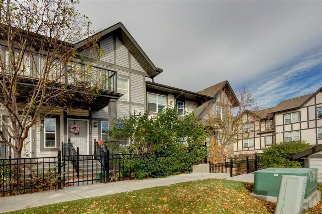 Main Photo: 124 Cranford Court SE in Calgary: Cranston Row/Townhouse for sale : MLS®# A1150644