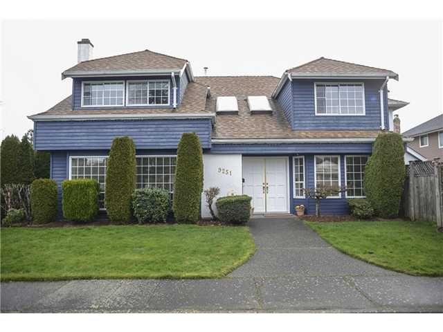 Main Photo: 9251 EVANCIO Crescent in Richmond: Lackner House for sale : MLS®# V991154