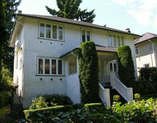 Main Photo: 6569 BALSAM ST in Vancouver: S.W. Marine House for sale (Vancouver West)  : MLS®# V598156