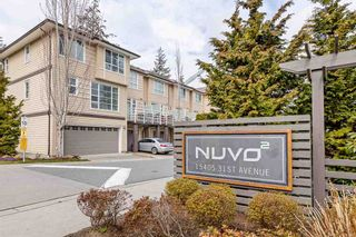 """Photo 1: 69 15405 31 Avenue in Surrey: Grandview Surrey Townhouse for sale in """"Nuvo II"""" (South Surrey White Rock)  : MLS®# R2555413"""
