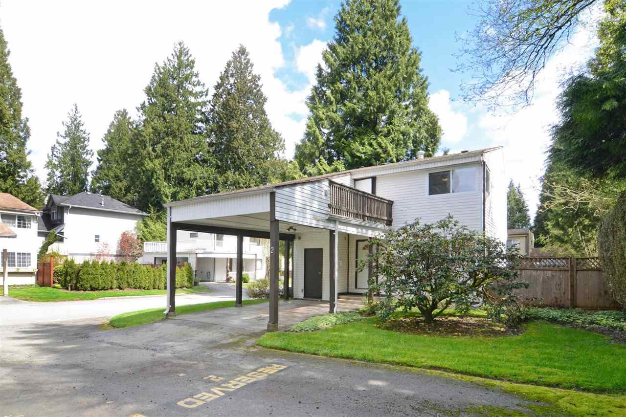 """Main Photo: 2 2986 COAST MERIDIAN Road in Port Coquitlam: Birchland Manor Townhouse for sale in """"MERIDIAN GARDENS"""" : MLS®# R2171375"""