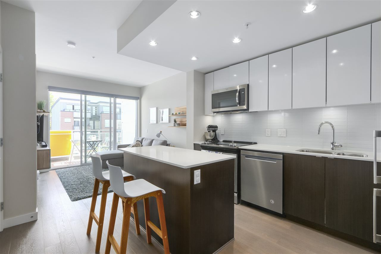 """Main Photo: 310 688 E 19TH Avenue in Vancouver: Fraser VE Condo for sale in """"BOLD on Fraser"""" (Vancouver East)  : MLS®# R2407813"""
