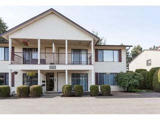 """Photo 1: 106 2853 W BOURQUIN Crescent in Abbotsford: Central Abbotsford Townhouse for sale in """"Bourquin Court"""" : MLS®# R2361510"""