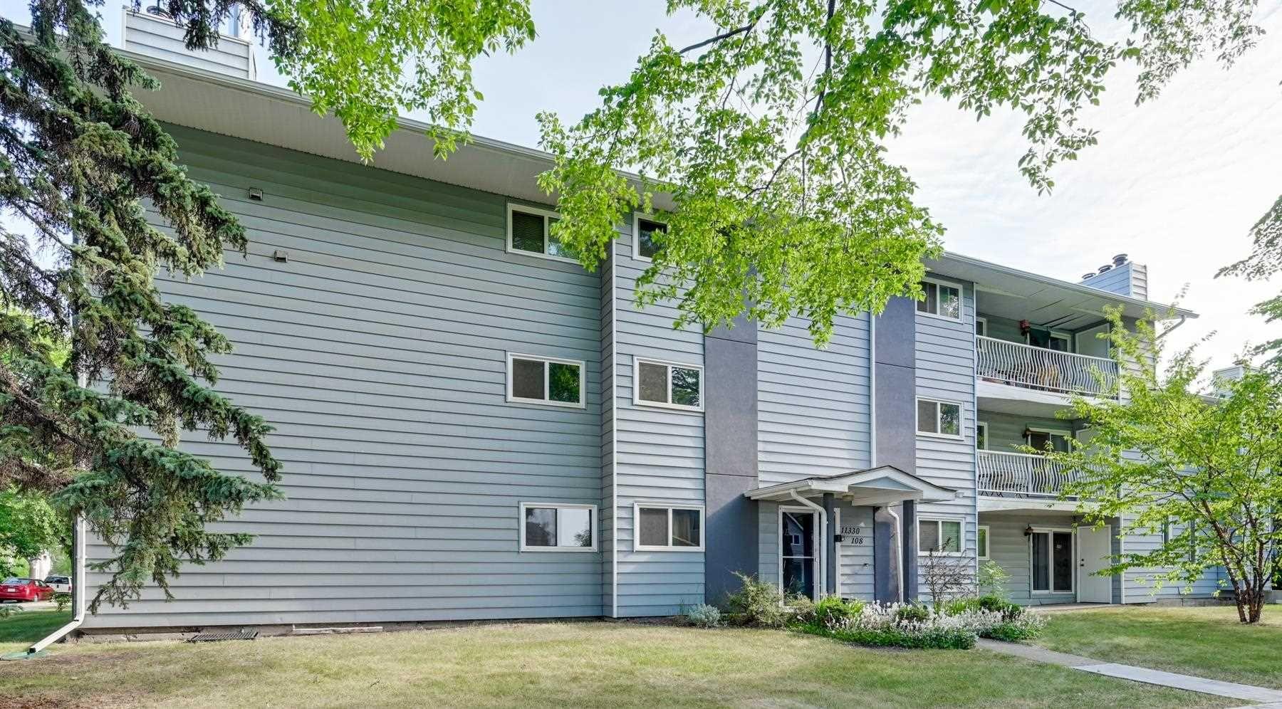 Main Photo: 105 11330 108 Avenue in Edmonton: Zone 08 Townhouse for sale : MLS®# E4254334