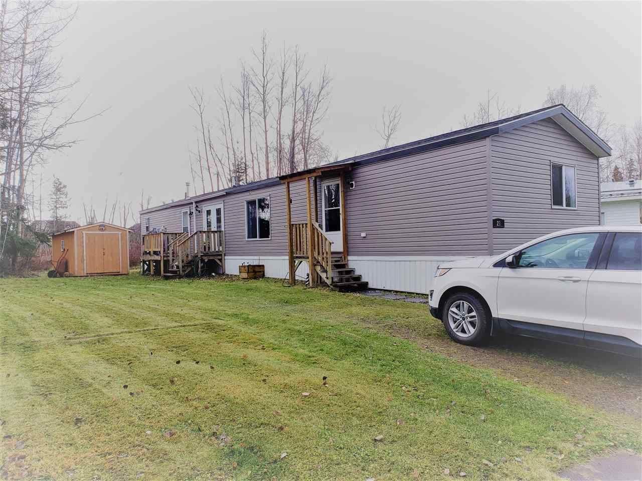 Main Photo: 21 6100 O'GRADY Road in Prince George: St. Lawrence Heights Manufactured Home for sale (PG City South (Zone 74))  : MLS®# R2516310