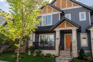 Photo 1: 177 Hawks Ridge Boulevard in Edmonton: Zone 59 House Half Duplex for sale : MLS®# E4262126