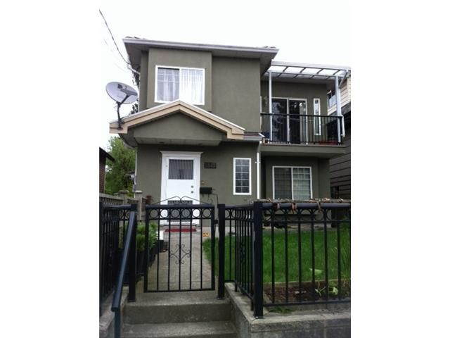 Main Photo: 1843 E 12TH Avenue in Vancouver: Grandview VE 1/2 Duplex for sale (Vancouver East)  : MLS®# V946824