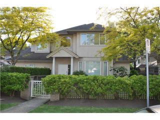 """Photo 1: 1 7651 MOFFATT Road in Richmond: Brighouse South Townhouse for sale in """"KING'S GARDEN"""" : MLS®# V894770"""