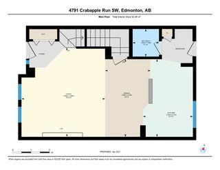 Photo 48: 4791 CRABAPPLE Run in Edmonton: Zone 53 House Half Duplex for sale : MLS®# E4235822