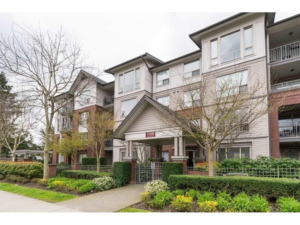 "Main Photo: 203 15188 22ND Avenue in Surrey: Sunnyside Park Surrey Condo for sale in ""MUIRFIELD GARDENS"" (South Surrey White Rock)  : MLS®# R2156068"