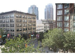 Photo 3: # 402 1155 HOMER ST in Vancouver: Yaletown Condo for sale (Vancouver West)  : MLS®# V1037431