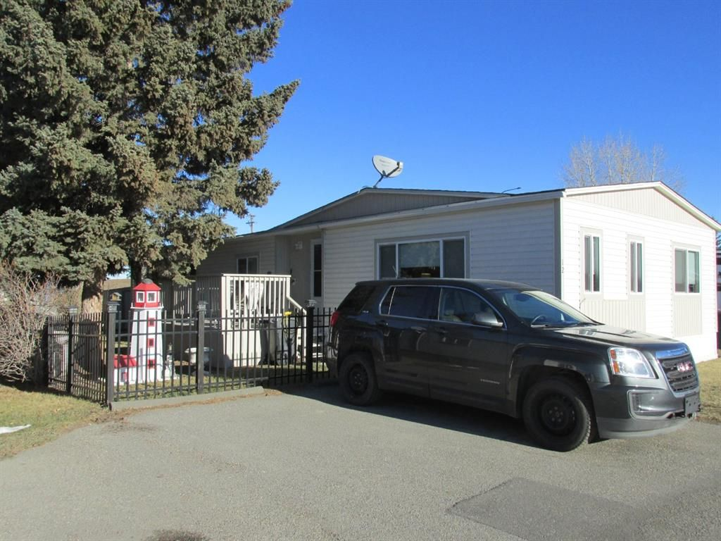 Main Photo: #12 Trails West Moblie Home Park: Black Diamond Mobile for sale : MLS®# A1052833