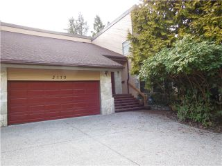 """Photo 1: 2173 KIRKSTONE Road in North Vancouver: Westlynn House for sale in """"WESTLYNN"""" : MLS®# V993548"""