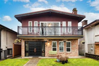 Main Photo: 476 E 45TH Avenue in Vancouver: Fraser VE House for sale (Vancouver East)  : MLS®# R2534977
