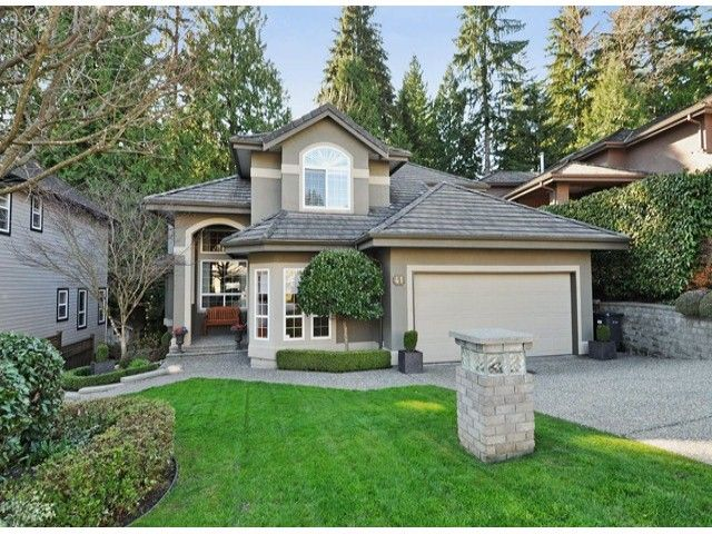 Main Photo: 41 WILKES CREEK Drive in Port Moody: Heritage Mountain House for sale : MLS®# V1056038