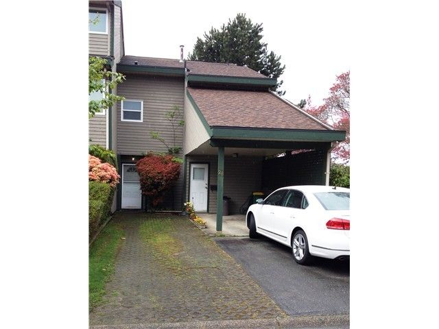"""Main Photo: 28 12120 189A Street in Pitt Meadows: Central Meadows Townhouse for sale in """"MEADOW ESTATES"""" : MLS®# V1071152"""