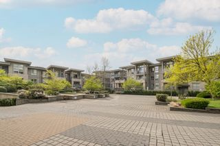 """Photo 1: 404 9339 UNIVERSITY Crescent in Burnaby: Simon Fraser Univer. Condo for sale in """"HARMONY AT THE HIGHLANDS"""" (Burnaby North)  : MLS®# R2578073"""