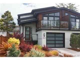 Photo 1: 252 ontario St in VICTORIA: Vi James Bay Half Duplex for sale (Victoria)  : MLS®# 736021