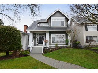 Photo 1: 3951 W 24TH AV in Vancouver: Dunbar House for sale (Vancouver West)  : MLS®# V1006355