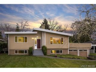Photo 1: 3545 Cardiff Pl in VICTORIA: OB Henderson House for sale (Oak Bay)  : MLS®# 721666