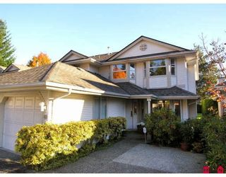 "Photo 1: 62 9045 WALNUT GROVE Drive in Langley: Walnut Grove Townhouse for sale in ""BRIDLEWOODS"" : MLS®# F2830088"