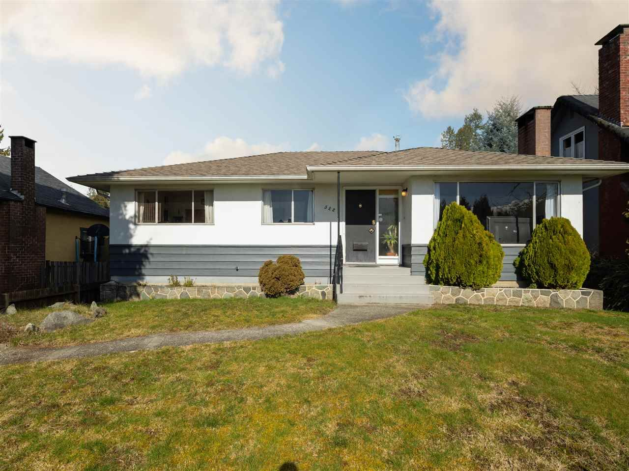 Main Photo: 522 E 17TH Street in North Vancouver: Boulevard House for sale : MLS®# R2545427