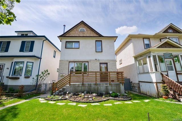Main Photo: 42 Cobourg Avenue in Winnipeg: Residential for sale (3C)  : MLS®# 1813354