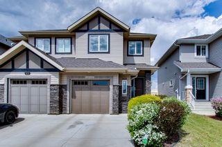 Photo 1: 15912 10 Avenue in Edmonton: Zone 56 House Half Duplex for sale : MLS®# E4248660