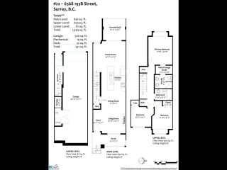 """Photo 33: 22 6568 193B Street in Surrey: Clayton Townhouse for sale in """"Belmont at Southlands"""" (Cloverdale)  : MLS®# R2589057"""