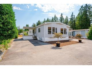 """Photo 1: 228 20071 24 Avenue in Langley: Brookswood Langley Manufactured Home for sale in """"Fernridge Park"""" : MLS®# R2600395"""