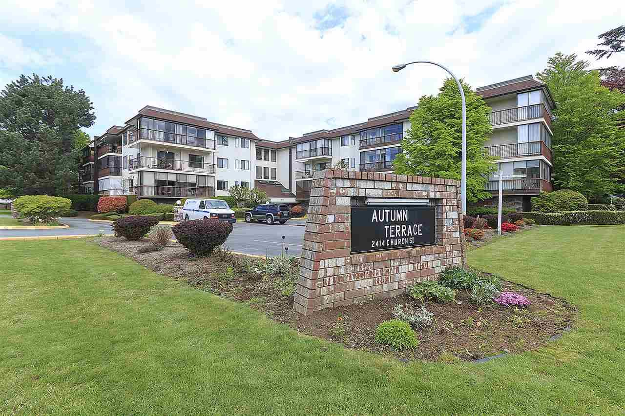 "Main Photo: 114 2414 CHURCH Street in Abbotsford: Abbotsford West Condo for sale in ""AUTUMN TERRACE"" : MLS®# R2163311"