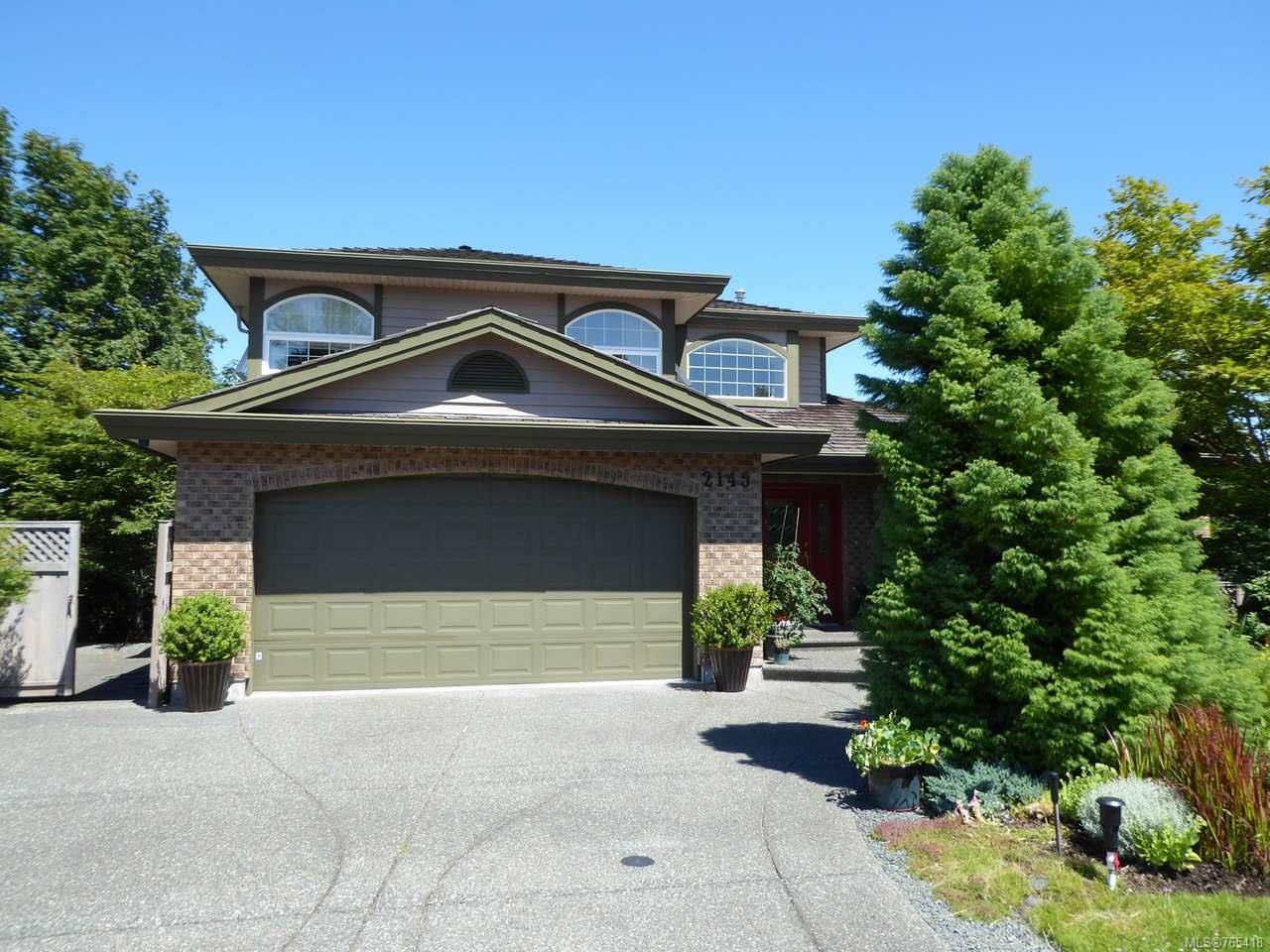 Main Photo: 2145 Canterbury Lane in CAMPBELL RIVER: CR Willow Point House for sale (Campbell River)  : MLS®# 765418