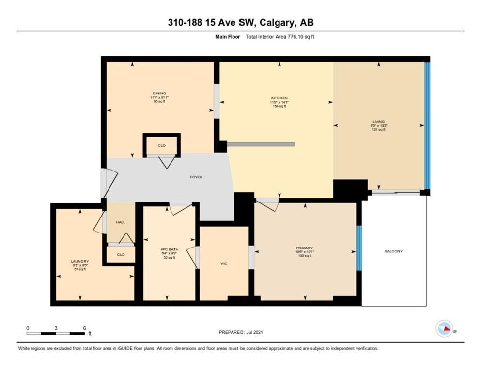 Photo 16: Photos: 310 188 15 Avenue SW in Calgary: Beltline Apartment for sale : MLS®# A1129695