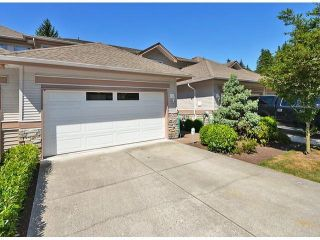 """Photo 1: 50 11860 RIVER Road in Surrey: Royal Heights Townhouse for sale in """"Cypress Ridge"""" (North Surrey)  : MLS®# F1417810"""