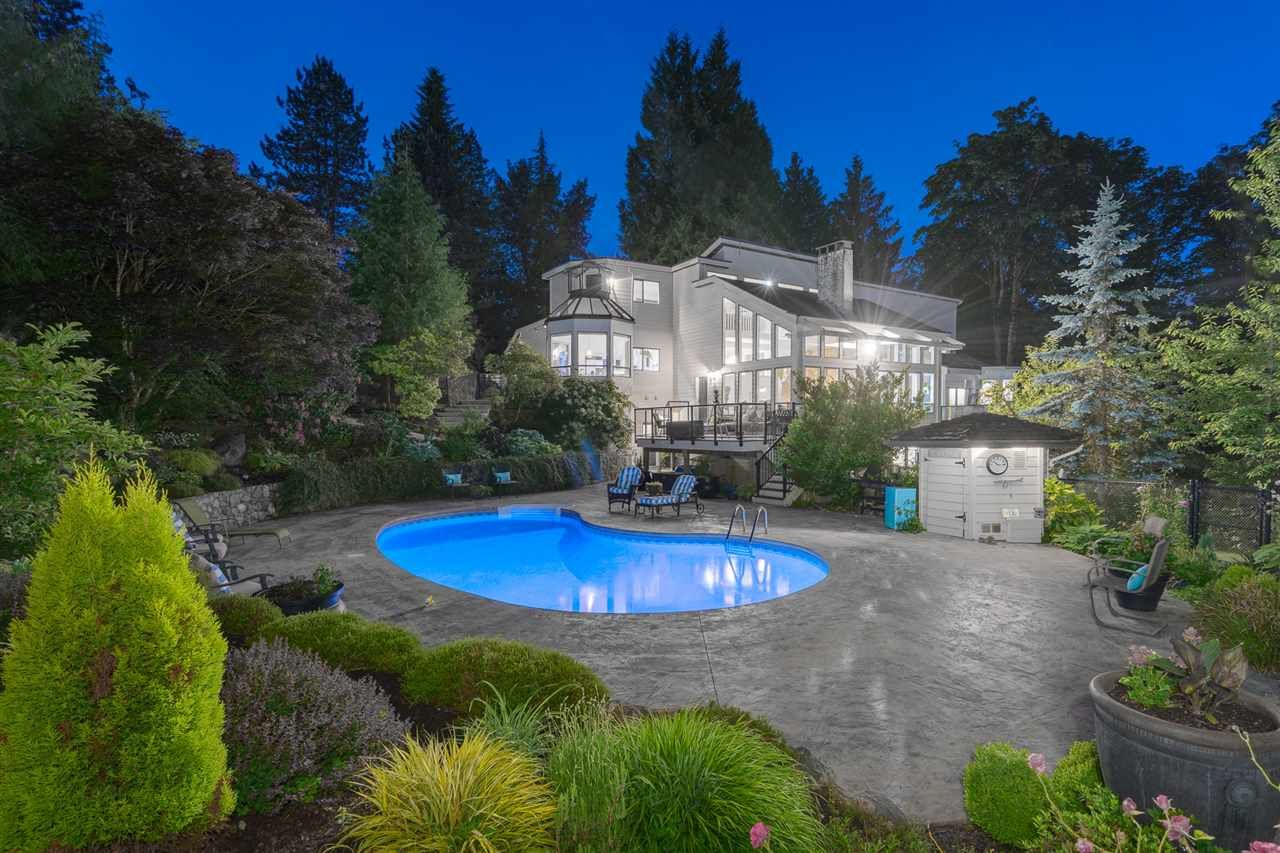 Beautiful oasis in your own back yard. Recent pool liner, heater and stamped concrete patio