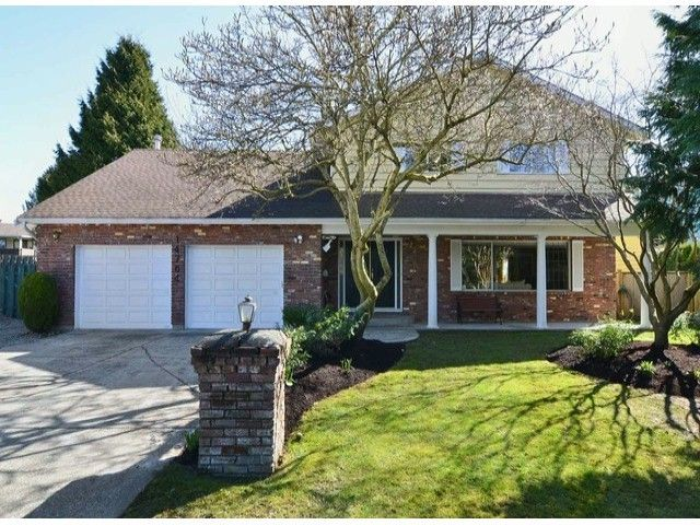 Main Photo: 14764 16A AVENUE in South Surrey: Sunnyside Park Surrey House for sale ()  : MLS®# F1306867