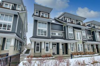 Photo 2: 191 Silverado Plains Park SW in Calgary: Silverado Row/Townhouse for sale : MLS®# A1086865
