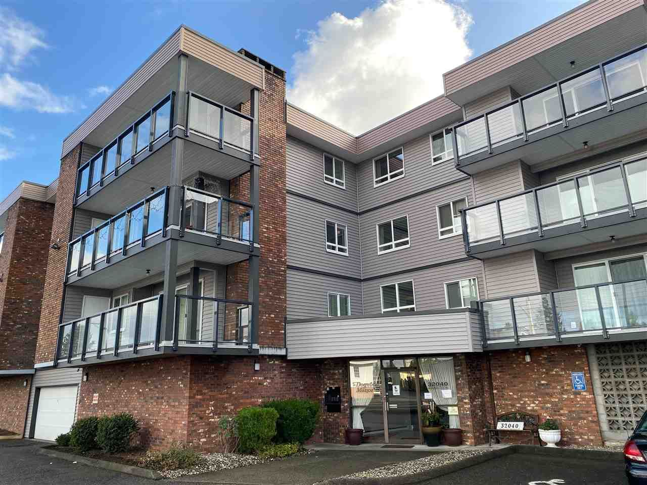 Main Photo: 307 32040 PEARDONVILLE ROAD in Abbotsford: Abbotsford West Condo for sale : MLS®# R2526573