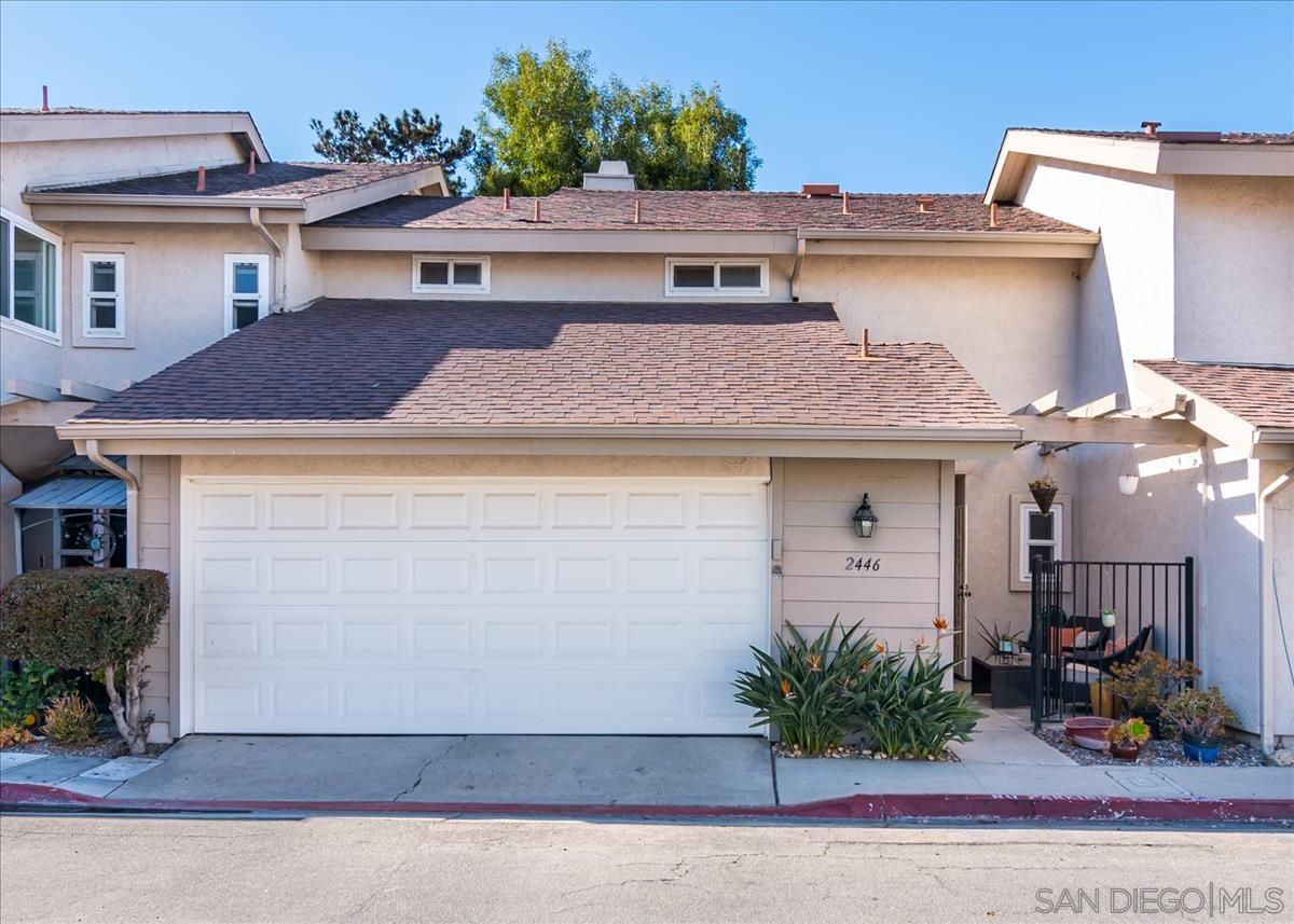Main Photo: OCEAN BEACH Townhouse for sale : 3 bedrooms : 2446 Camimito Venido in San Diego