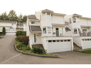 """Photo 1: 205 1180 FALCON Drive in Coquitlam: Eagle Ridge CQ Townhouse for sale in """"FALCON HEIGHTS"""" : MLS®# V1086366"""