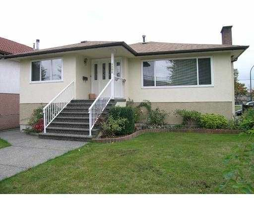 Main Photo: 5592 WALES ST in Vancouver: Collingwood Vancouver East House for sale (Vancouver East)  : MLS®# V561075
