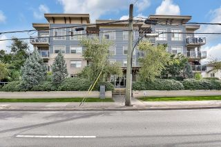 """Photo 1: 312 19936 56 Avenue in Langley: Langley City Condo for sale in """"Bearing Ponte"""" : MLS®# R2615876"""