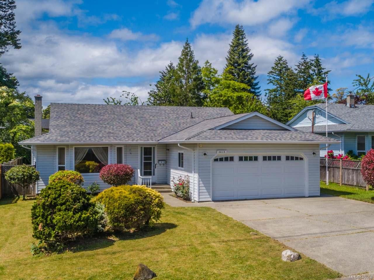 Main Photo: 2619 Quill Dr in NANAIMO: Na Diver Lake House for sale (Nanaimo)  : MLS®# 840084