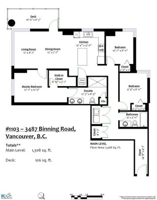 "Photo 20: 1103 3487 BINNING Road in Vancouver: University VW Condo for sale in ""ETON"" (Vancouver West)  : MLS®# R2358768"